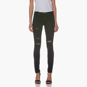 Paige verdugo black shadow destructed jeans